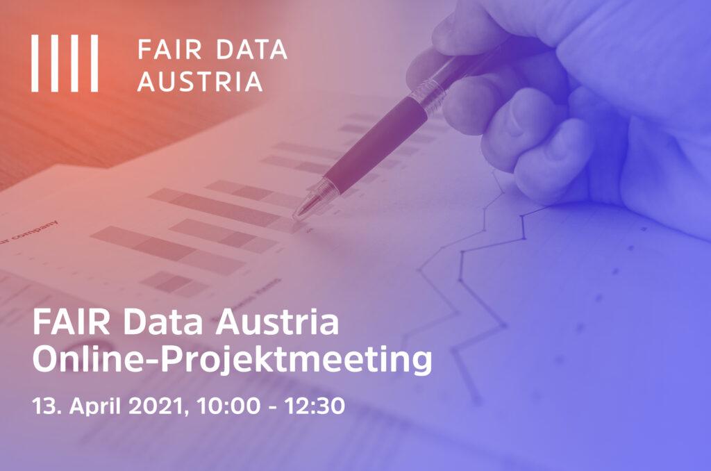 FAIR Data Online Project Meeting