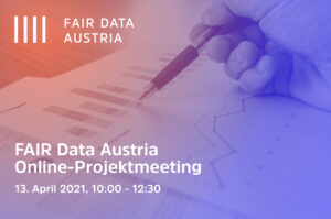 Fair Data Online Projektmeeting