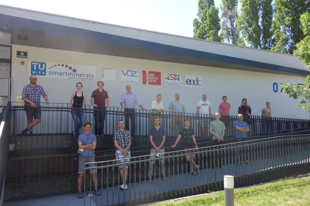 Hackathon group picture
