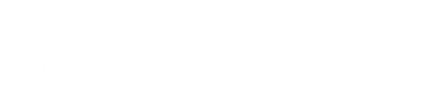 Logo Fair Data Austria weiss Header